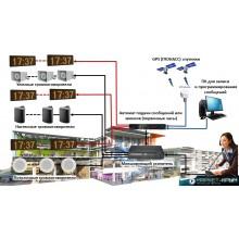 Современная система оповещения и подачи звонков по расписанию с синхронизацей точного времени через спутники ГЛОНАСС/GPS