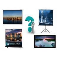 Выбор экрана для мультимедиа проектора