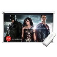 Проекционный экран с электроприводом Cinema S'OK Motoscreen 16:9 (SCPSM-221x125)