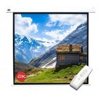Проекционный экран с электроприводом Cinema S'OK Motoscreen 1:1 (SCPSM-220x220)