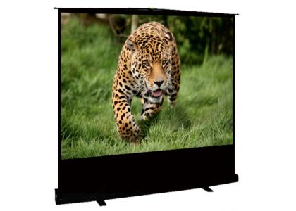 Проекционный напольный экран Sakura Cinema S'OK Standscreen 122х163 для мобильных мероприятий и кино